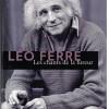 Les chants de la fureur, Léo Ferré, Gallimard/La mémoire de la mer – Un enchantement
