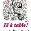 13 à table (2019), recueil collectif de nouvelles, Pocket – Livre pour les Restaurants du Coeur