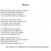 Manon – Poème en l'honneur de la dernière née de la famille