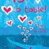 13 à table, ouvrage collectif, Pocket – 17 auteurs pour les Restaurants du Coeur