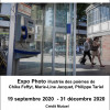 Allô ? Expo de photos de Thierry le Fouillé, mises en poèmes par Chika Feffyt, Marie-Line Jacquet et Philippe Tariel
